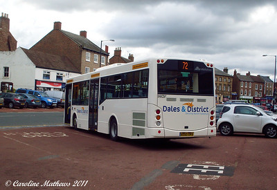 Dales and District 31 (AE06GRX), Northallerton, 8th August 2011