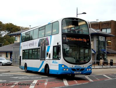 Ulsterbus 2219 (SEZ2219), Downpatrick, 15th October 2014