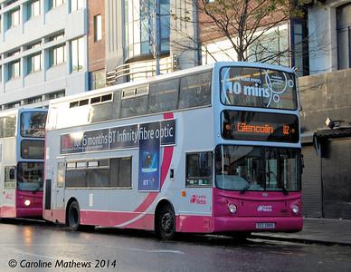 Metro 2895 (EEZ 2895), Belfast, 21st October 2014