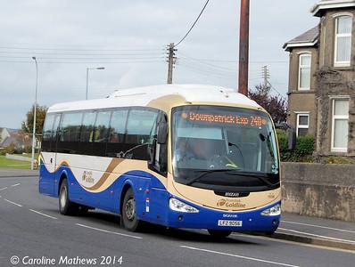 Ulsterbus 1056 (LFZ 9056), Newcastle, 14th October 2014