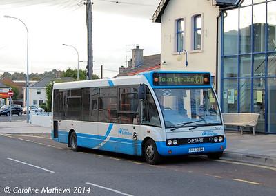 Ulsterbus 1854 (SCZ 3854), Newcastle, 14th October 2014