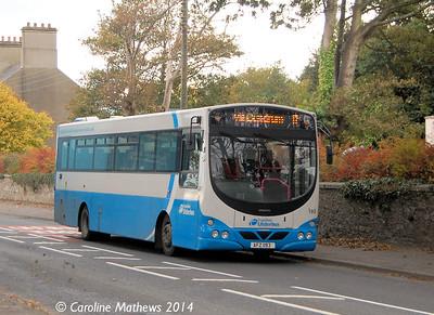 Ulsterbus 193 (AFZ 1193), Dundrum, 14th October 2014