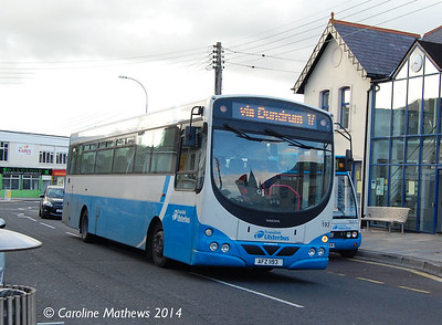 Ulsterbus 193 (AFZ 1193), Newcastle, 14th October 2014