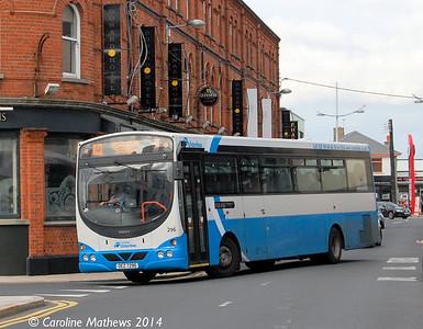 Ulsterbus 296 (OEZ 7296) , Newcastle, 14th October 2014