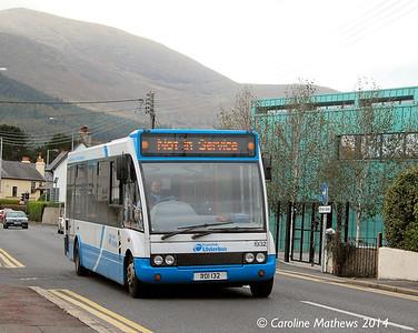 Ulsterbus 1932 (ROI 132), Newcastle, 14th October 2014