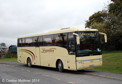 Downshire Coach Travel N55DCT, Downpatrick, 15th October 2014