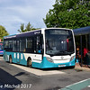 Arriva 2001 (YY15NJV), Nuneaton Bus Station, 9th September 2017