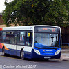 Stagecoach 39687 (KX08LVH), Harefield Road, Nuneaton, 9th September 2017