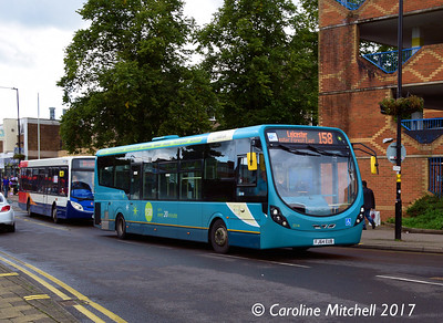 Arriva 3314 (FJ64EUB), Harefield Road, Nuneaton, 9th September 2017