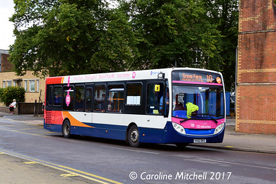 Stagecoach 36752 (KX62BRZ), Harefield Road, Nuneaton, 9th September 2017