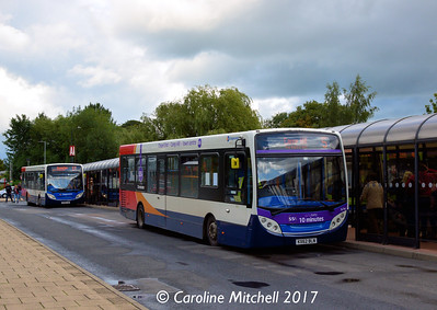 Stagecoach 36748 (KX62BLN), Nuneaton Bus Station, 9th September 2017