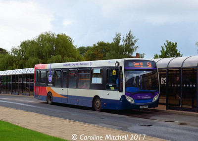 Stagecoach 36747 (KX62BKO), Nuneaton Bus Station, 9th September 2017
