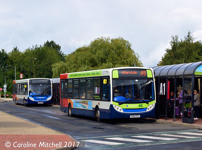 Stagecoach 36170 (KX60DTO), Nuneaton Bus Station, 9th September 2017
