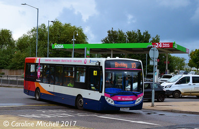 Stagecoach 36755 (KX62BTO), Nuneaton Bus Station, 9th September 2017