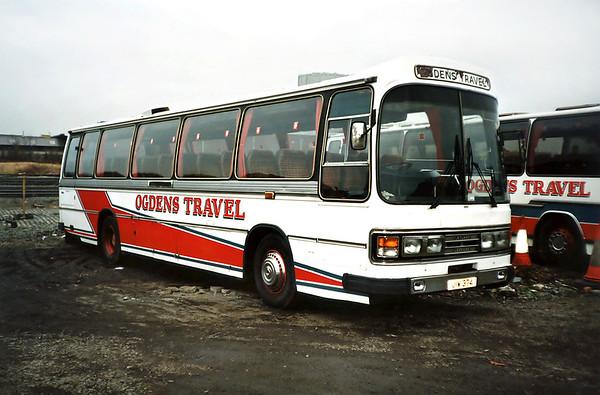 JIW374, St Helens 18/1/1992