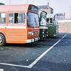 Alder Valley 167, 461 & 760 Farnham Road Bus Station, Guildford 8 Feb 75