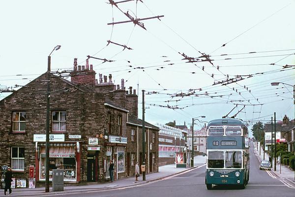 Bradford 834 LHN784, Bolton Road, July 1971