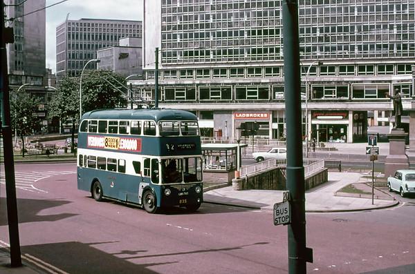 Bradford 835 LHN785, Bradford, July 1971