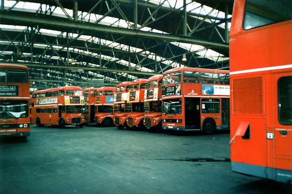 East London, Upton Park Garage 25/1/1991