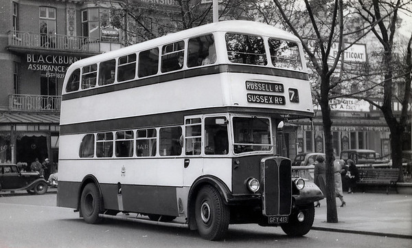 Southport Corporation 113 GFY413, Southport 1956 Copyright: R Marshall (?)