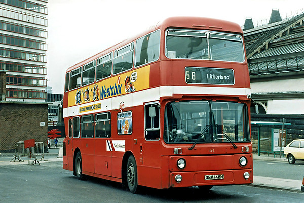 North Western 462 GBV148N, Liverpool 1986