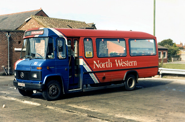 North Western 16 D216SKD, Crosby 26/8/1988