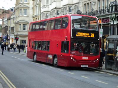 OXFORD BUS COMPANY ENVIRO 400