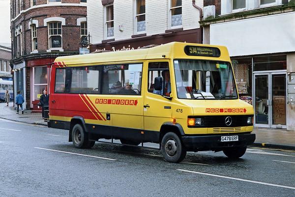 478 G478ERF, Wolverhampton 7/3/1992