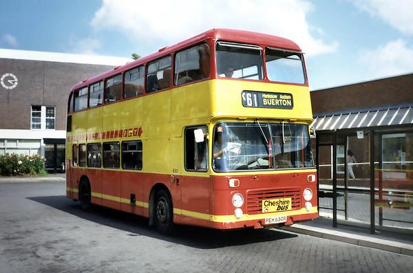 650 PEH650R, Nantwich 30/7/1990