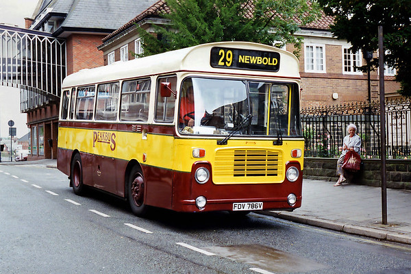 FDV786V, Chesterfield 26/7/1994