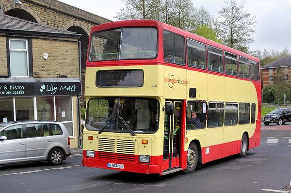 M703HPF, Accrington 20/4/2017