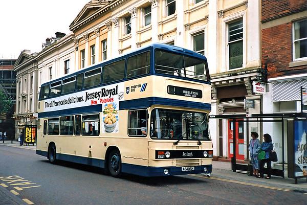 33 A33MRN, Preston 29/6/1991