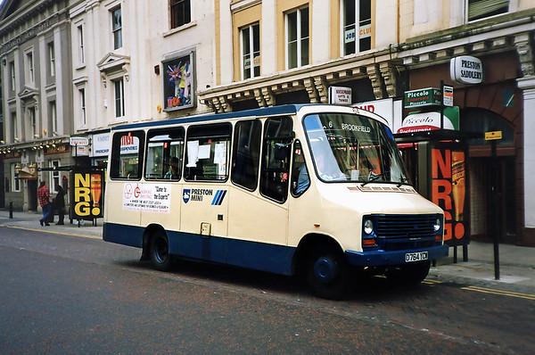 64 D764YCW Preston 29/6/1991