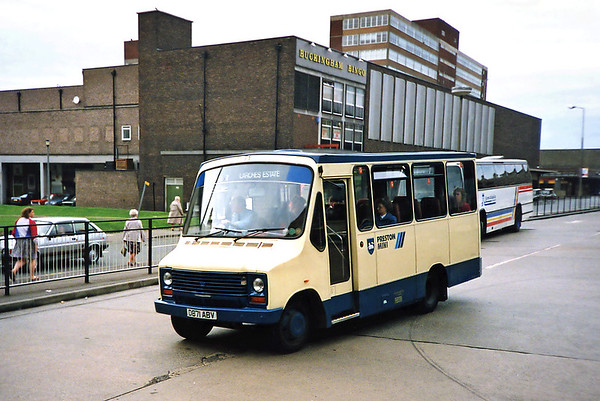 71 D871ABV, Preston 29/6/1991