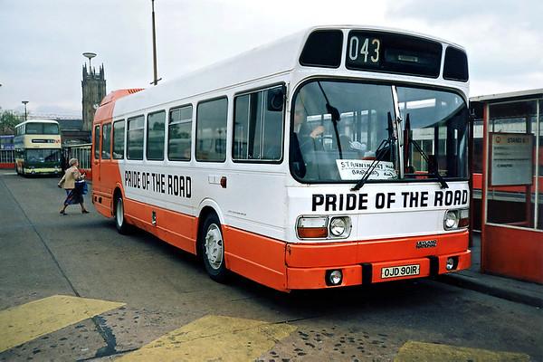 OJD901R, Leeds 10/5/1991