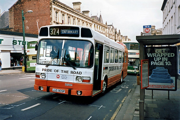 JJG905P, Huddersfield 9/5/1991