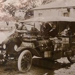 The car in the photograph below was one of the first cars Wally owned. (Image from the Pendle Family Collection)