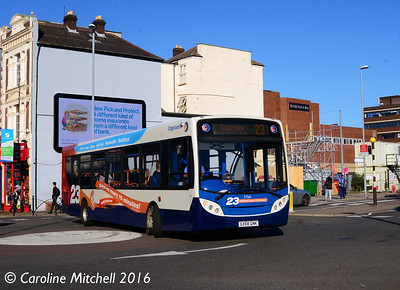 Stagecoach 27563 (GX58GNK), Commercial Road, Portsmouth, 5th October 2016