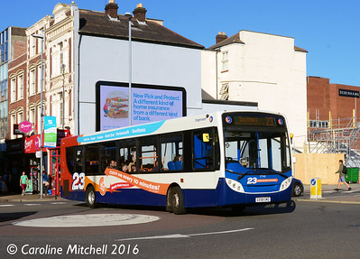 Stagecoach 27560 (GX58GMZ), Commercial Road, Portsmouth, 5th October 2016