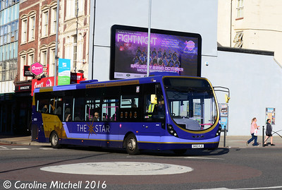 First 63050 (SK63KSE), Commercial Road, Portsmouth, 5th October 2016