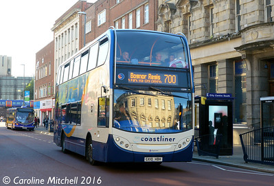 Stagecoach 15599 (GX10HBH), Commercial Road, Portsmouth, 5th October 2016