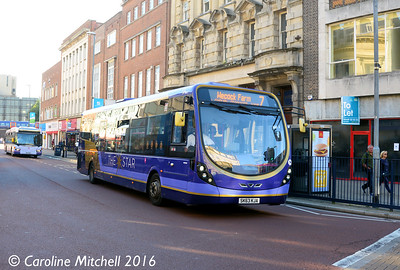 First 63049 (SK63KSA), Commercial Road, Portsmouth, 5th October 2016