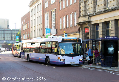 First 65006 (YN54NZA), Commercial Road, Portsmouth, 5th October 2016