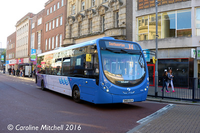 First 63304 (SN65OLH), Commercial Road, Portsmouth, 5th October 2016