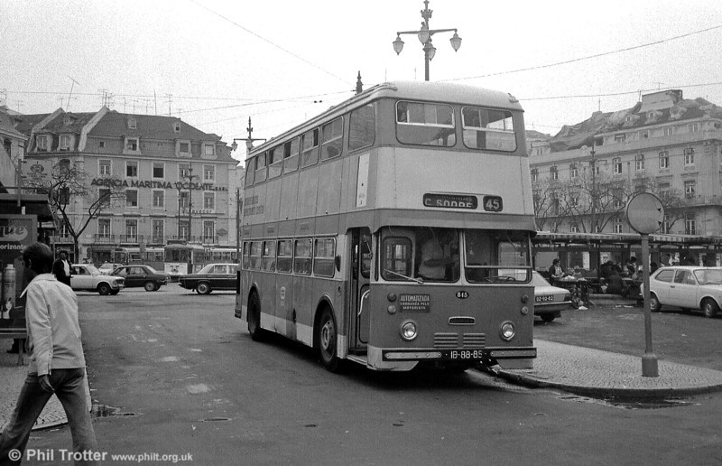 Daimler Fleetline CRG6 845 (IB-88-85).