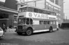 AEC Regent V 437 (IA-42-13) running as training bus V-22 at Santo Amaro depot.