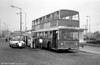 STCP Oporto Atlantean 257 (MO-67-52) refuelling at a wayside pump.