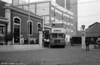 AEC Regent V 431 (IA-42-07), running as training bus V-31 emerges from Santo Amaro depot.