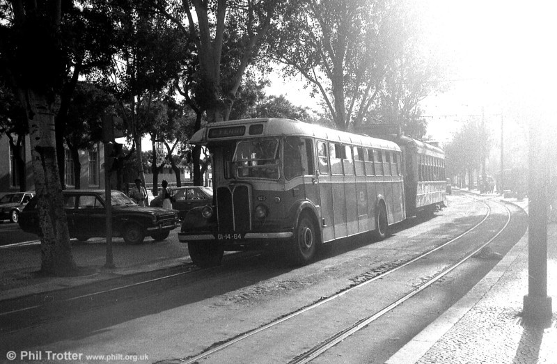 Taken into the sun, another view of AEC Regal III 125 (GI-14-64).