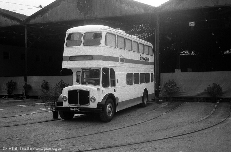 Immaculate AEC Regent V former 425 (HH-97-97), now exhibition bus V-5 at Santo Amaro depot.